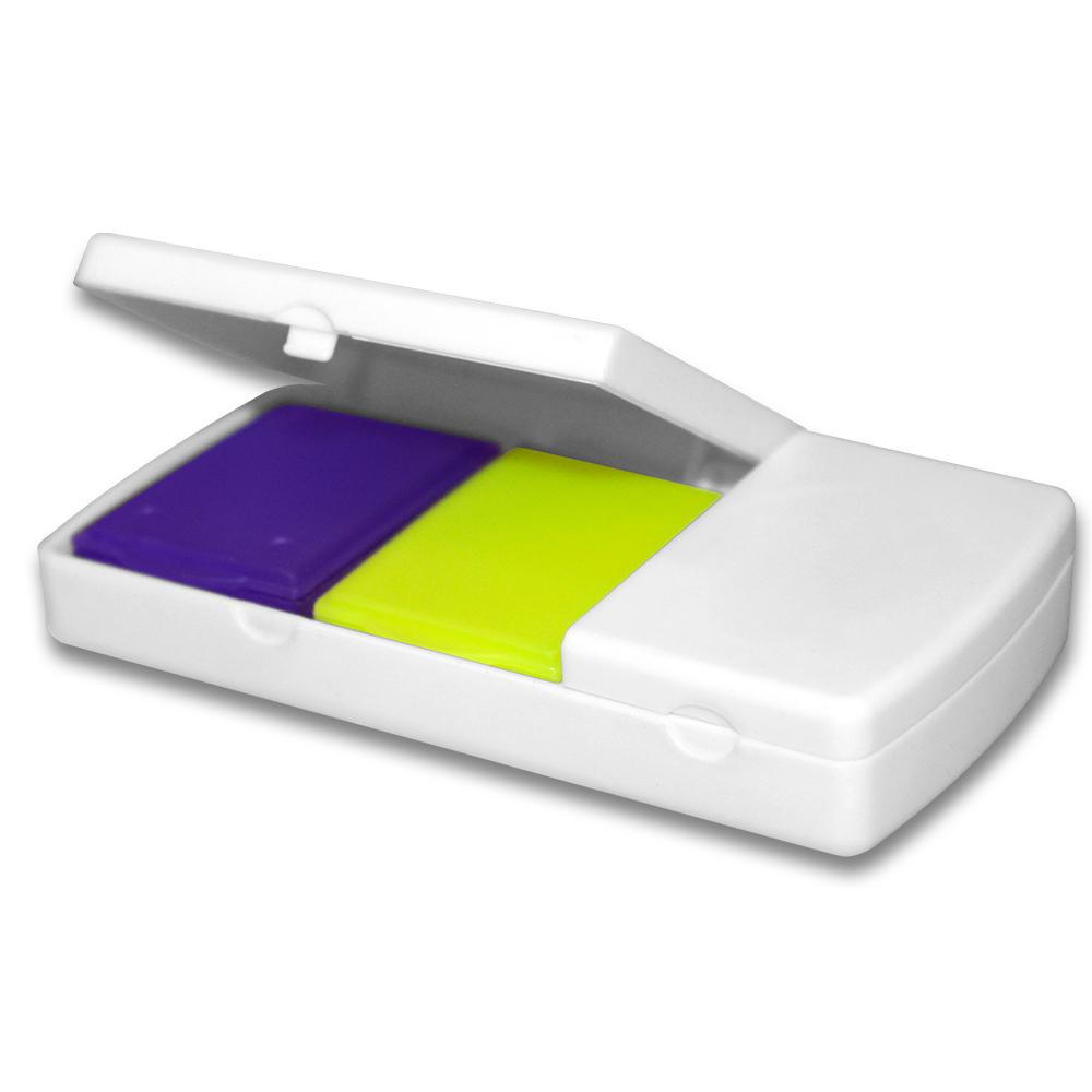 Органайзер ENJEE для таблеток пластик (с разделителем) PT6008