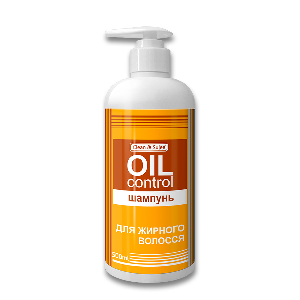 "Шампунь для жирных волос ""CLEAN&SUJEE OIL CONTROL"" , 500 мл"