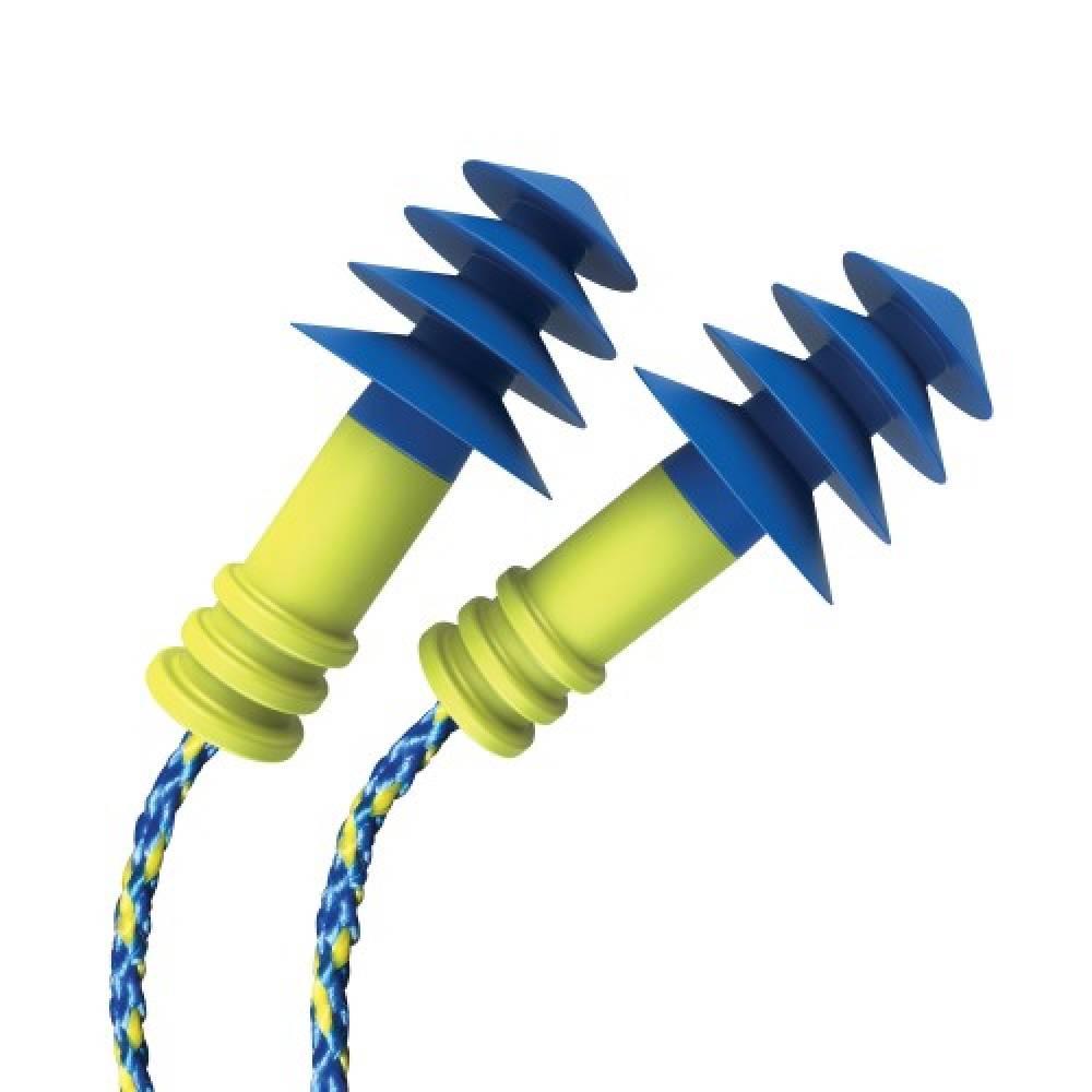 Беруши EAR SEALS мягкие #11 (до 27 дб) №1 (рельефные, защита от воды и шума, съемный шнур)