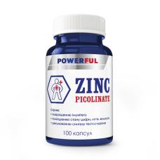 Пиколинат цинка POWERFUL, капсулы 500 мг №100 банка