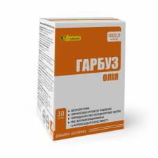 Масло тыквы AN NATUREL (1000,0 мг (mg) масла семян тыквы) добавка диетическая, капсулы № 30