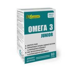 Омега 3 JUNIOR AN NATUREL (300,0 мг(mg) Омеги 3) добавка диетическая, капсулы № 60