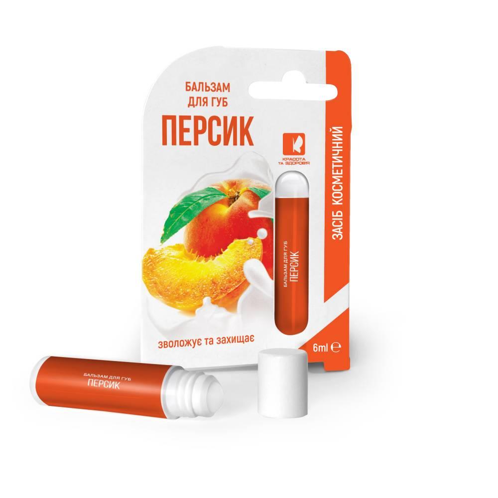 Бальзам для губ роликовый ENJEE Персик 6 мл
