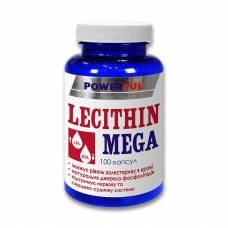 LECITHIN MEGA POWERFUL капсулы 1,0 г №100 Банка (Лецитин мега)