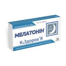 Мелатонин К&ЗДОРОВЬЯ, таблетки 200 мг №30