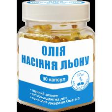 Масло семян льна ENJEE, капсулы №90