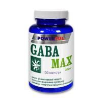 GABA MAX POWERFUL капсулы 1.0 Г №100 Банка (Габа-макс, ГАМК)
