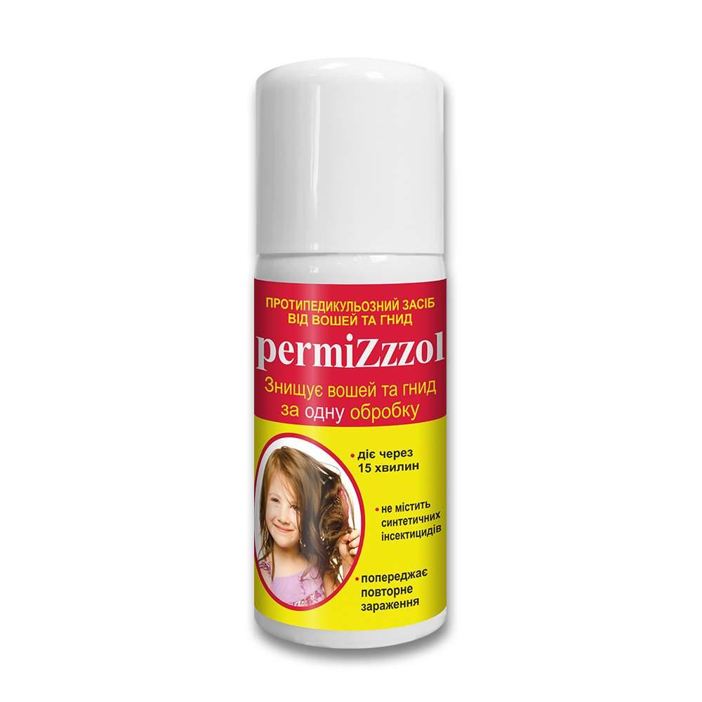 Пермизол (PERMIZZZOL) профилактическое средство от вшей и гнид аэрозоль 70 мл