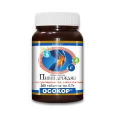 """Дрожжи пивные """"ОСОКОР"""" с хондроитином и глюкозамином, таблетки №100"""