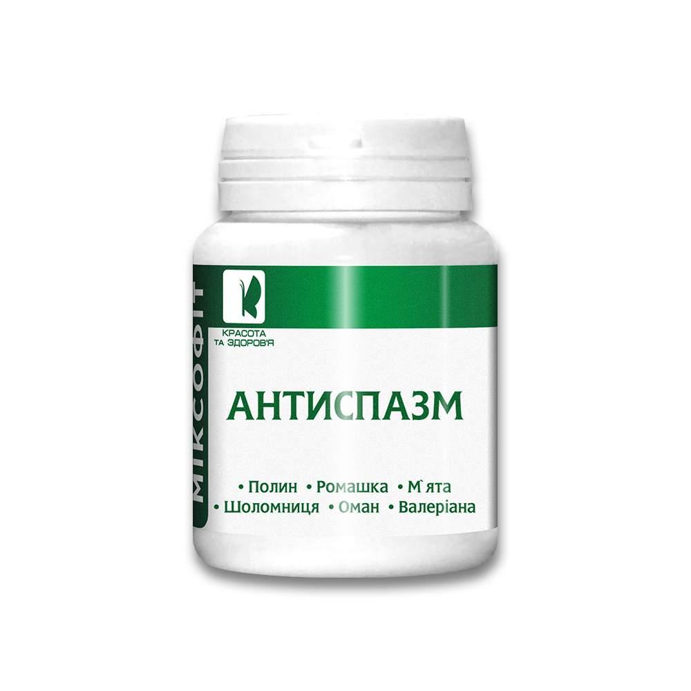 "Антиспазм ""МИКСОФИТ"" таблетки №45"