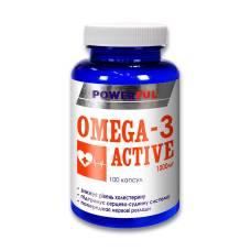 OMEGA-3 АКТИВ POWERFUL КАПСУЛЫ 1,4г №100 БАНКА (ОМЕГА-3 ПНЖК)