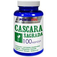CASCARA SAGRADA POWERFUL капсулы 1,0 г №100 Банка (Каскара саграда)
