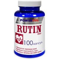 RUTIN POWERFUL капсулы 1,0 г №100 Банка (Рутин)