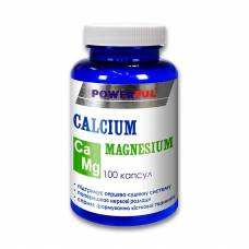 CALCIUM MAGNESIUM POWERFUL капсулы 1,0 г №100 Банка (Кальций, магний)