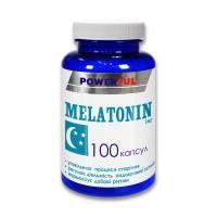 MELATONIN POWERFUL капсулы 1,0 г №100 Банка (Мелатонин)
